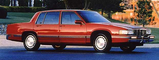 1992 sedan deville