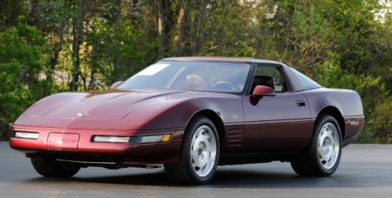 1993 40th anniversary corvette