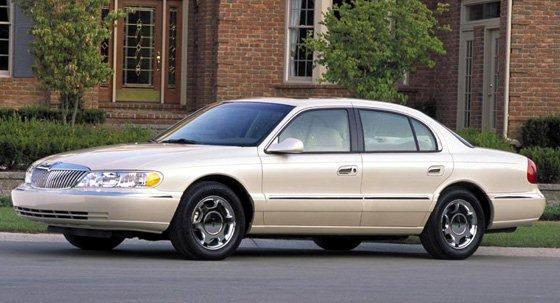 1995 lincoln continental 1