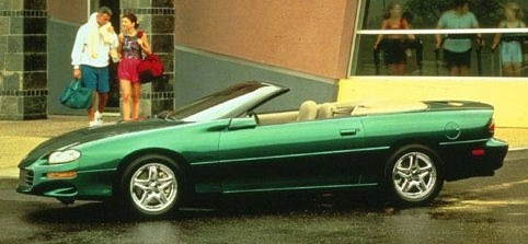 1998 chevrolet camaro cvtble