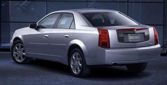 2003 cadillac cts rear