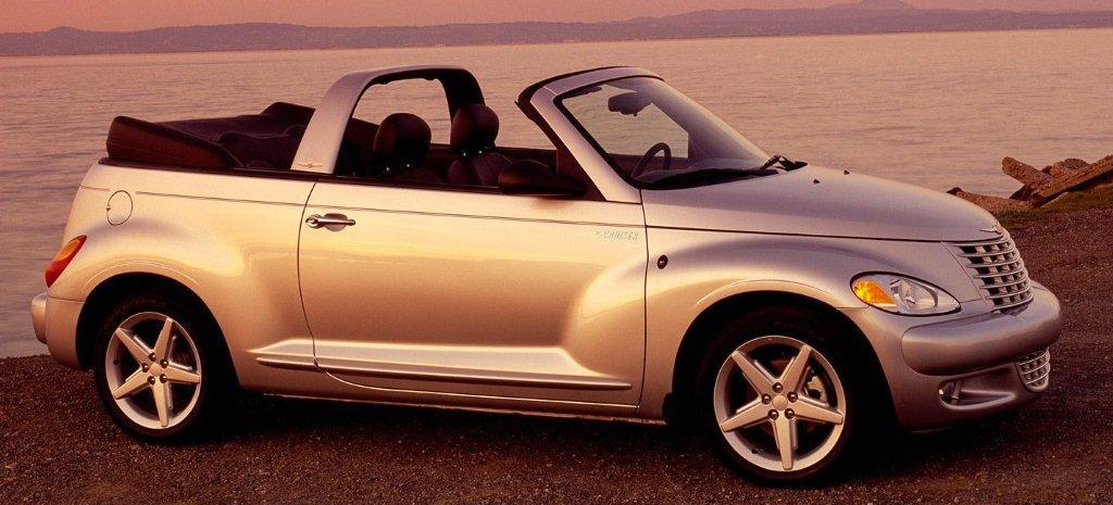2004 chrysler pt cruiser convertible