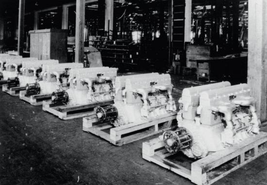 Bugatti u s sixteen cylinder aircraft engines u 16