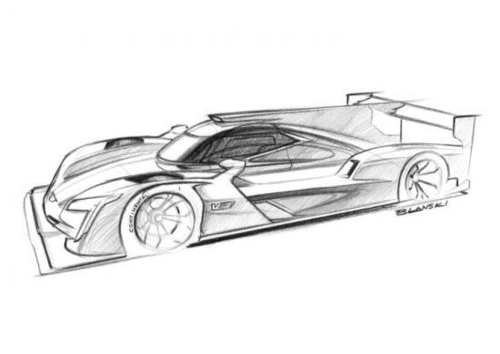 Cadillac dpi vr sketch