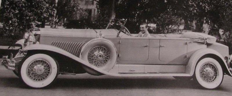 Duesenberg gary cooper 19302