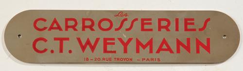 Embleme weymann
