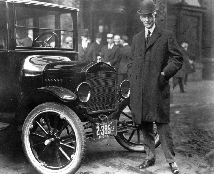 Ford et son model t