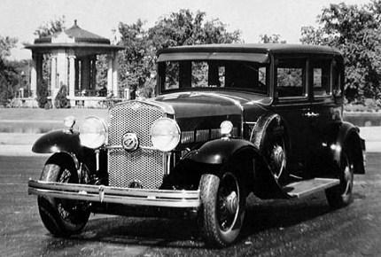 Gardner 1931 model150 eight in line 4 door sedan