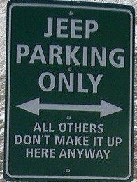 Jeep only