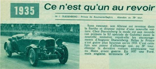 L automobile 1935