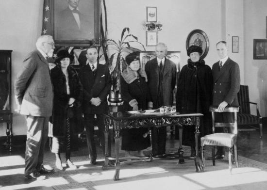 Les ford et les leland 1922