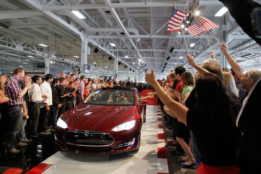 Tesla model s 1