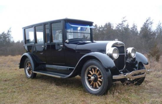 Type 106 limousine anderson 1921 1922