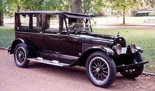 Type 110 berline brunn anderson 1921 1922