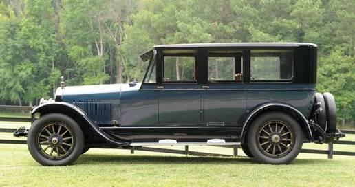 Type 118 limousine brunn anderson 1922 1924