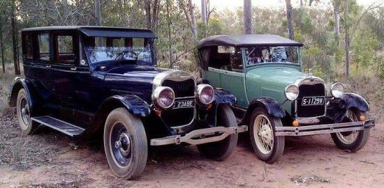 Type 129 sedan brunn anderson 1922 1924
