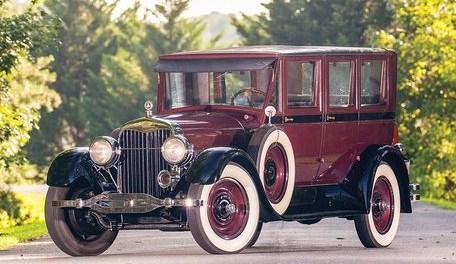 Type 135 limousine brunn anderson 1924 1925
