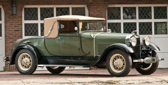 Type 151 rumble seat roadster locke 1926 1929